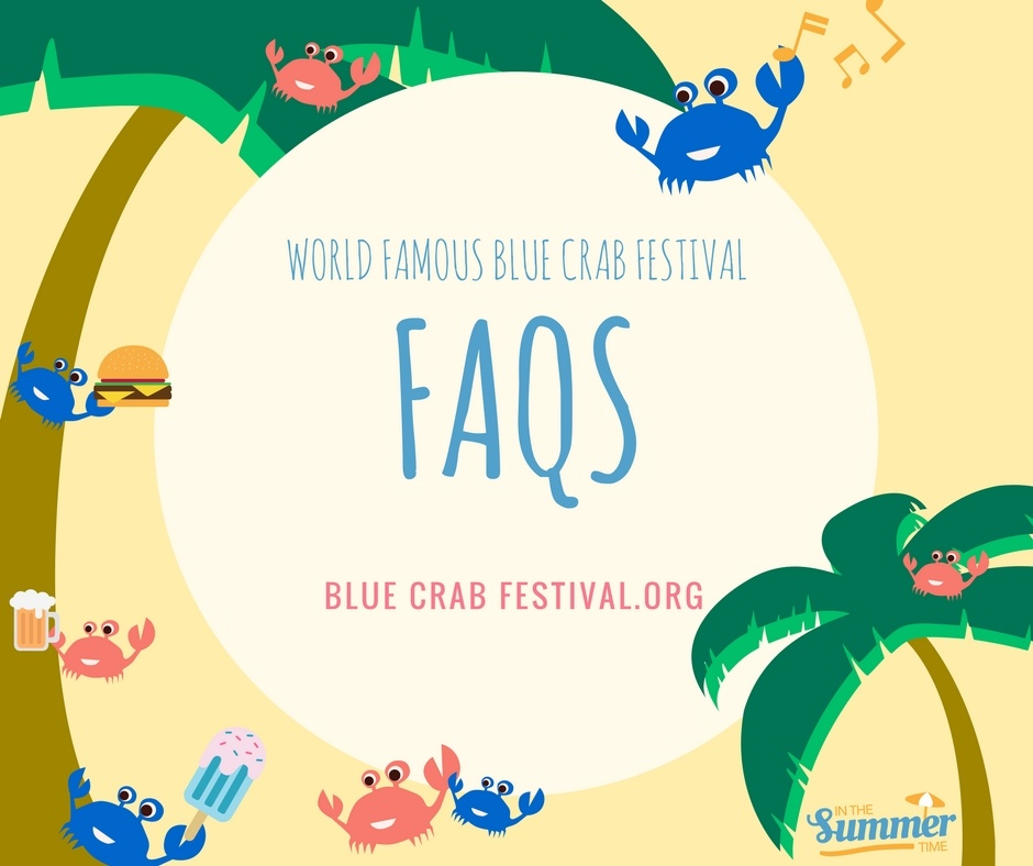 Blue Crab Festival FAQs